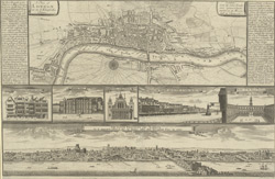 A plan of London as in Q. Elizabeth's days